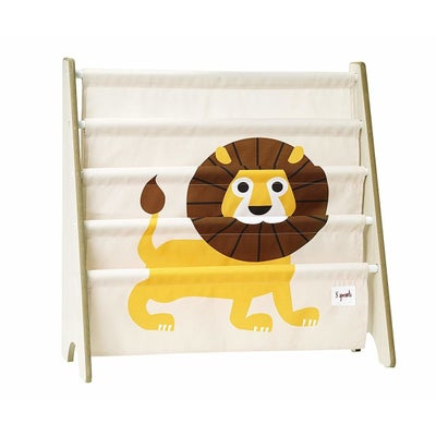 3 Sprouts Book Rack - Lion Yellow 806398
