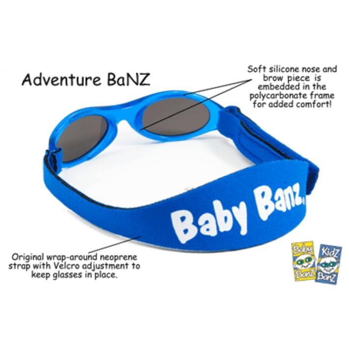 Adventure Banz Sunglasses - Aqua 802426
