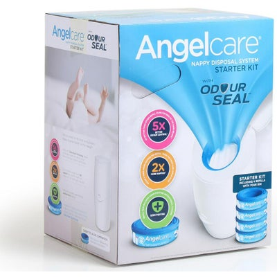 Angelcare Nappy Disposal System Starter Kit 805800