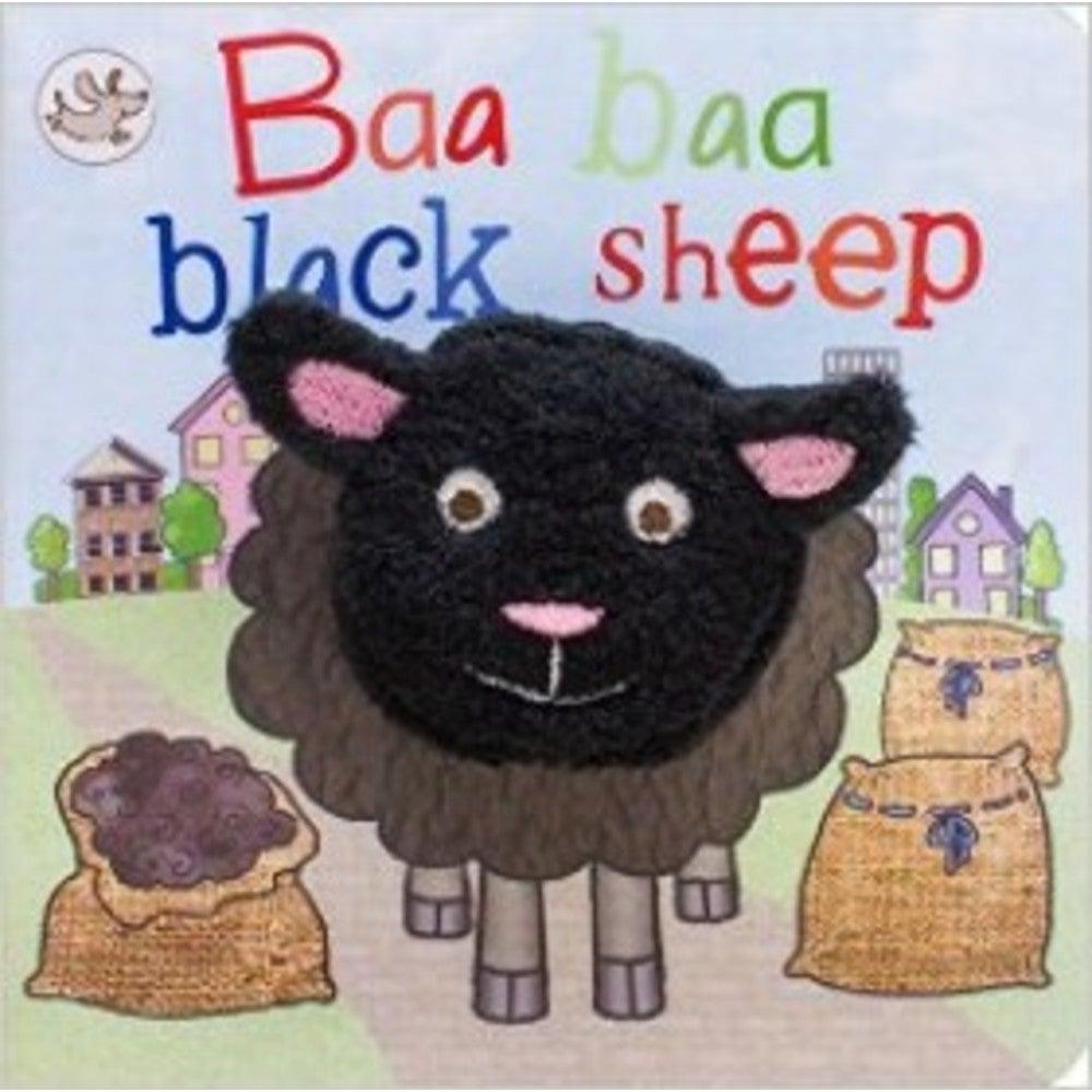 Baa Baa Black Sheep Finger Puppet Book 802743