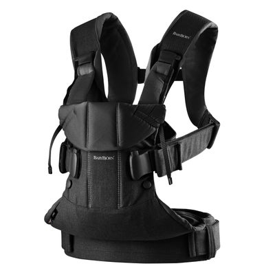 Baby Bjorn Carrier One - Black Cotton 806774