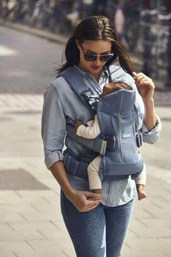 Baby Bjorn Carrier One - Slate Blue Mesh 807780