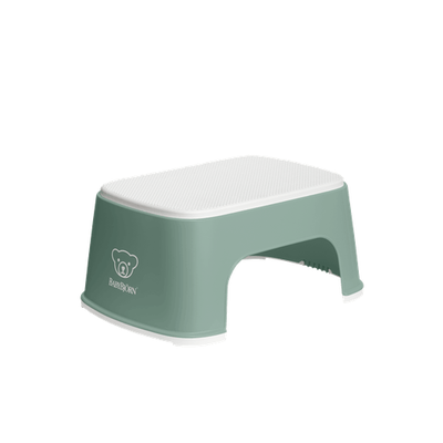 Baby Bjorn Step Stool - Deep Green/White 807023
