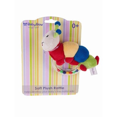 Baby Bow Caterpillar Ring Rattle 801288