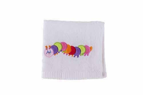 Baby Bow Gift Box Facecloth - Caterpillar 806024
