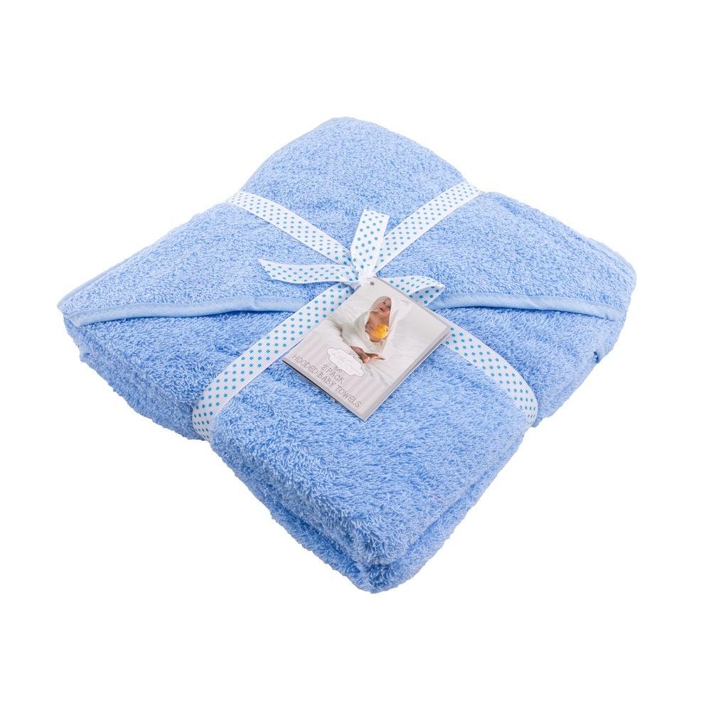 Baby Bow Little Dreams hooded towel 2pk 805714