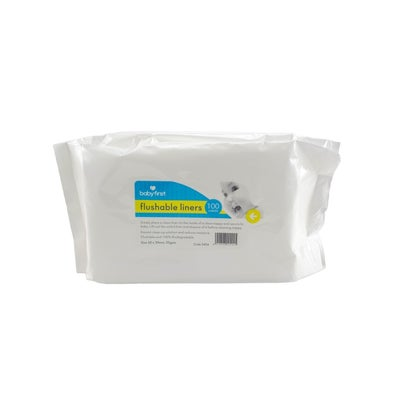 Baby First Deluxe Flushable Liners  723749