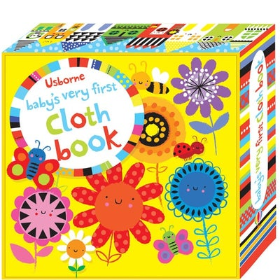 Baby's First Cloth Book - Flowers 805986