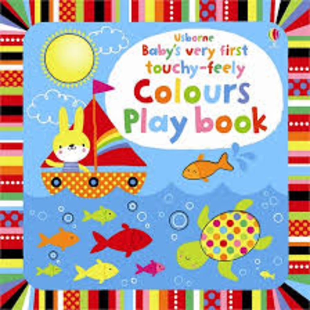 Baby's Very First Playbook Colours Book 802195