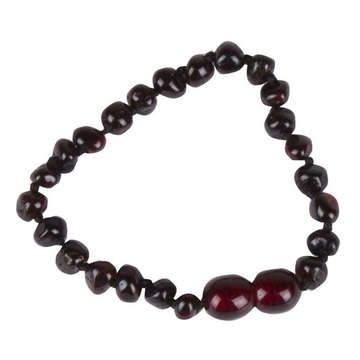 Baltic Amber Teething Bracelet - Cherry 720415