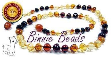Baltic Amber Teething Necklace - Rainbow 717020