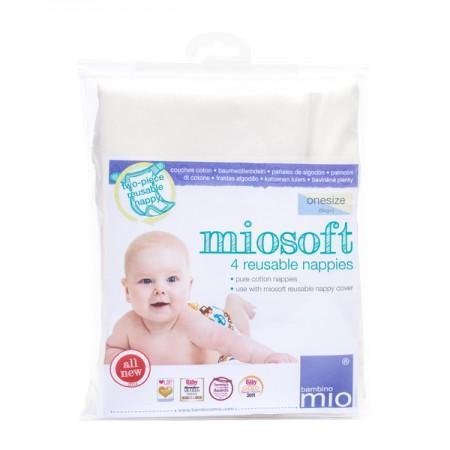 Bambino Mio Reusable Coth Nappies 4Pk 807270