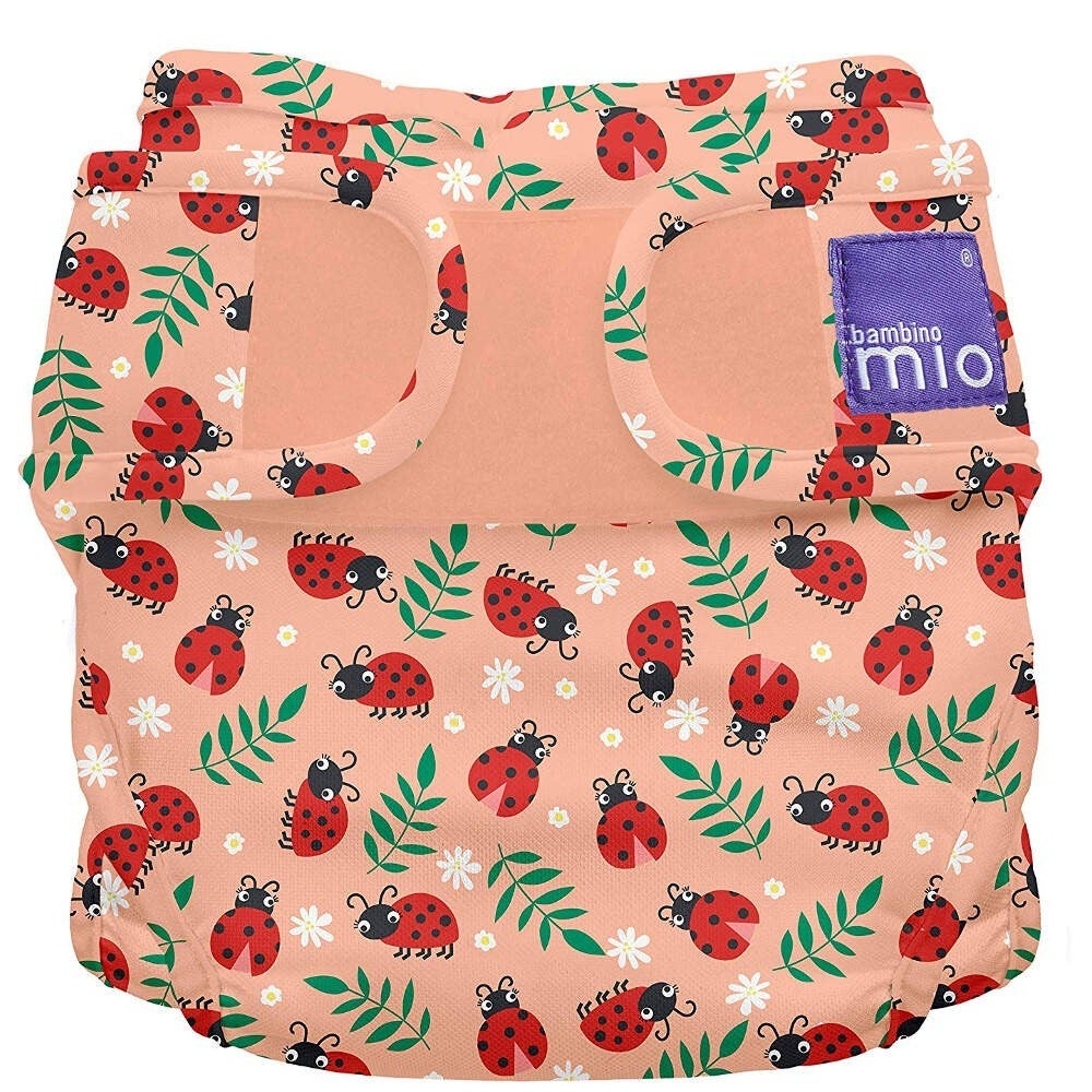 Bambino Mio - Miosolo all-in-one cloth nappy - Loveable Ladybug 806646