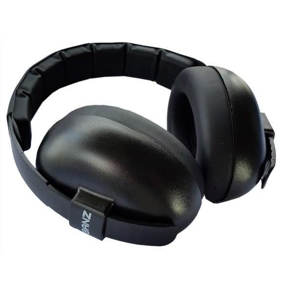 Banz Mini Muffs - Black 805921