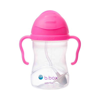 b.box Sippy Cup V2-  Pink Pomegranate 807626
