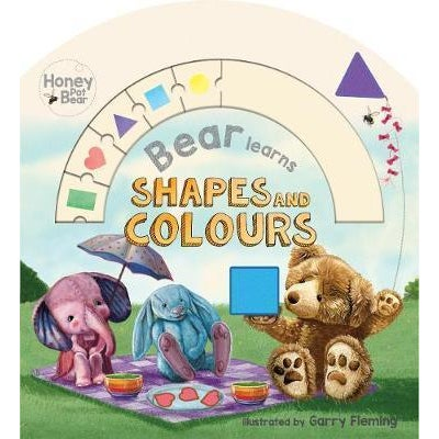 Bear Learns Shapes & Colours Book 806480