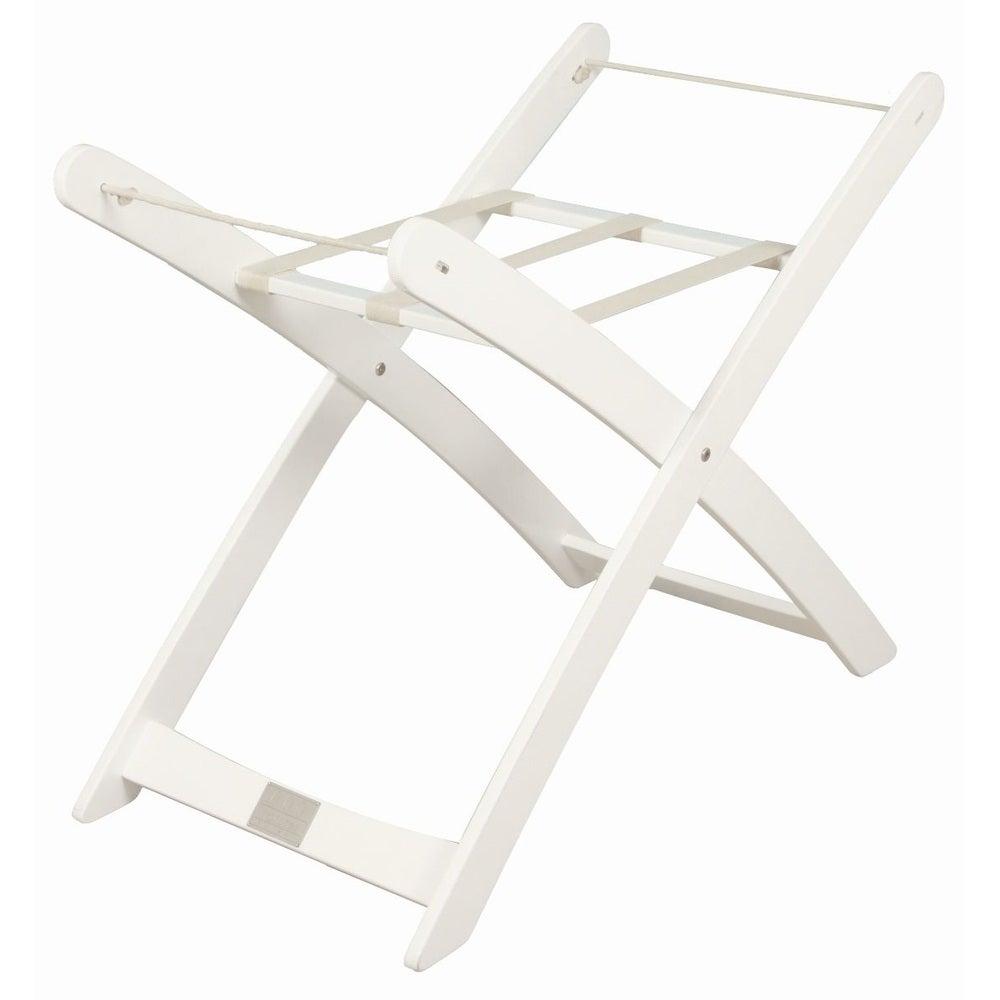 Bebe Moses Basket Stand - White 802905