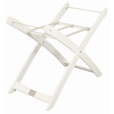 Bebe Moses Basket Stand - White - Stand only 802905