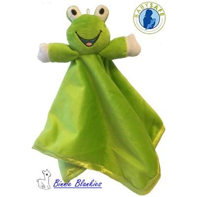Binnie Blankies Comforter Freddy Frog  804284