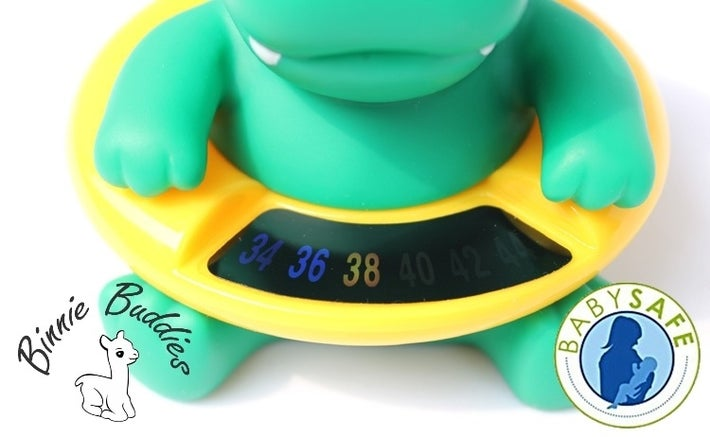 Binnie Buddies Bath Thermometer - Crockie 807336
