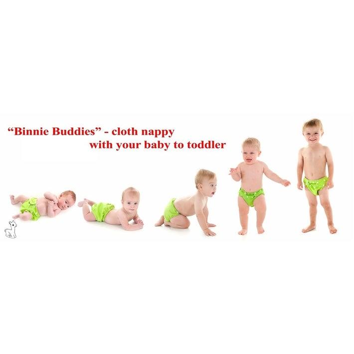 Binnie Baby Cloth Nappy - Blue 805381