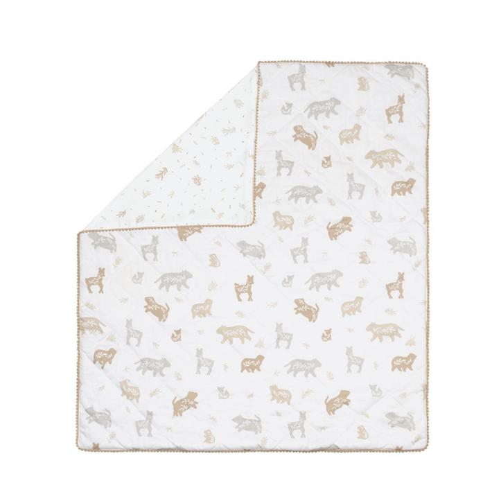 Lolli Living Bosco Bear Cot Reversible Comforter 808260