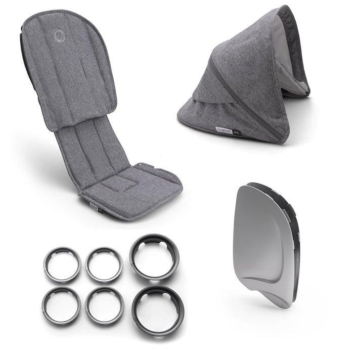 bugaboo Ant Style Set - Grey Melange  806805