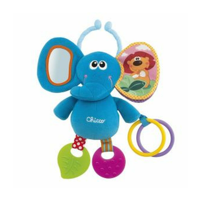 Chicco First Activities Elephant Stroller Toy 808342