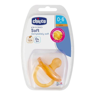 Chicco Latex Physio Soft Soother 1pk 8080530001