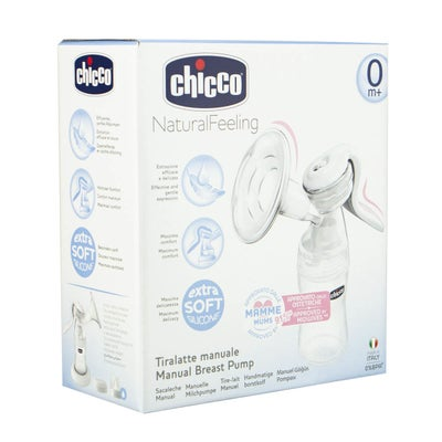 Chicco Manual Breast Pump Well-Being 8080080001