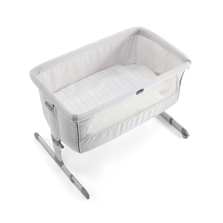 Chicco Next2Me Crib - Silver/Pearl 805260