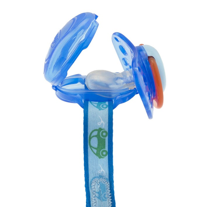 Chicco Pacifier Clip W Teat Cover 8080380001