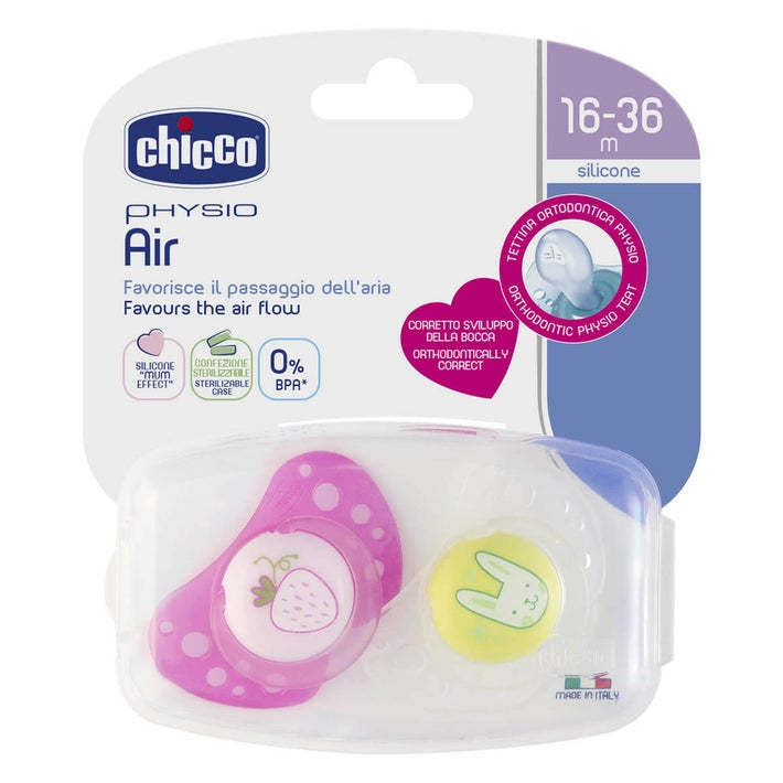 Chicco Physio Air 2pk Soother 8080370001