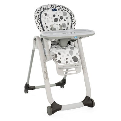 Chicco Polly Progress 5 Highchair - Anthracite 805745