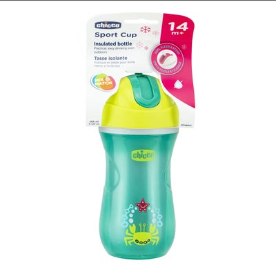 Chicco Straw Cup 14m+ 1pk (Sport Cup) 8080330001