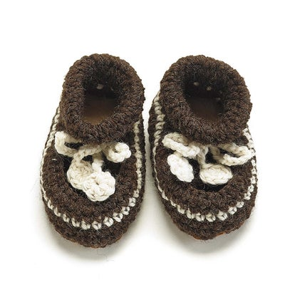 Classic NZ Crochet Bootees 9017930002