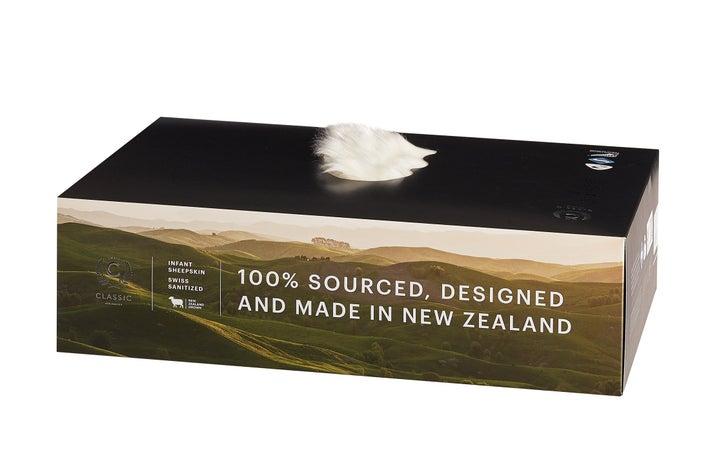 Classic NZ Long Pile Sheepskin - Grey 807057