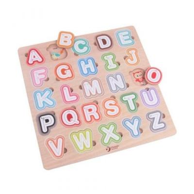 Classic World Wooden Alphabetic Puzzle 804294