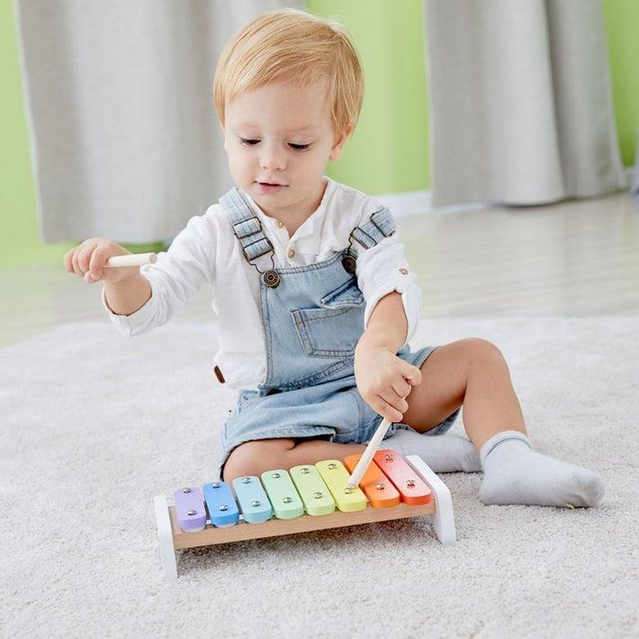 Classic World Wooden Rainbow Xylophone 702761