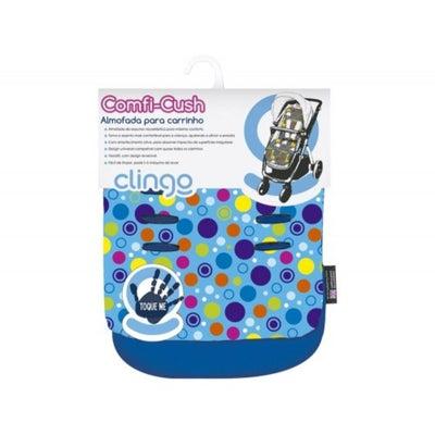 CuddleCo Comfi-Cush Memory Foam Stroller Liner - Spot the Dot 803895