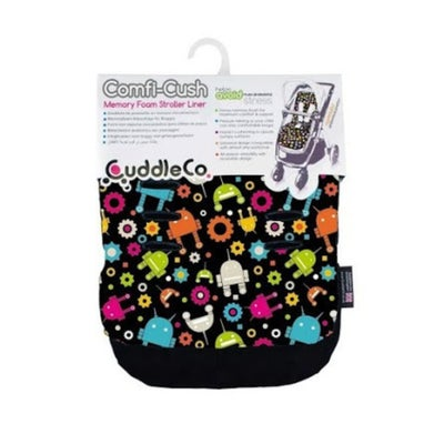 CuddleCo Comfi-Cush Memory Foam Stroller Liner - Robots 803893
