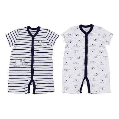 dot2tot 2Pk Short Sleeve Romper 9019890007