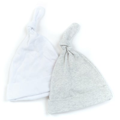 dot2tot Baby Essential 2pk Knot Hat 9004400002
