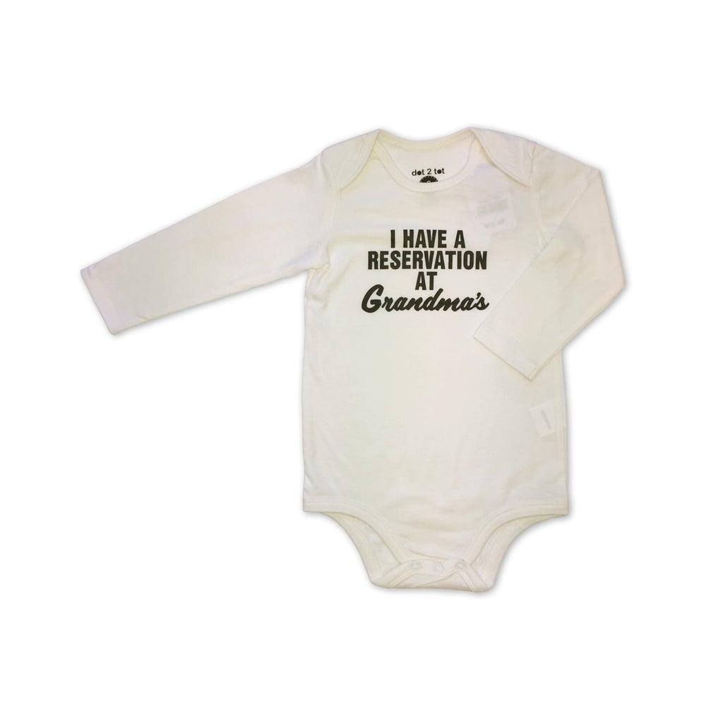 dot2tot Baby Slogan LS Bodysuit 9019040001