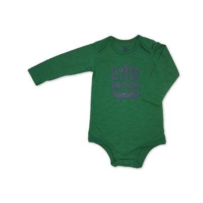 dot2tot Baby Slogan LS Bodysuit 9019040014