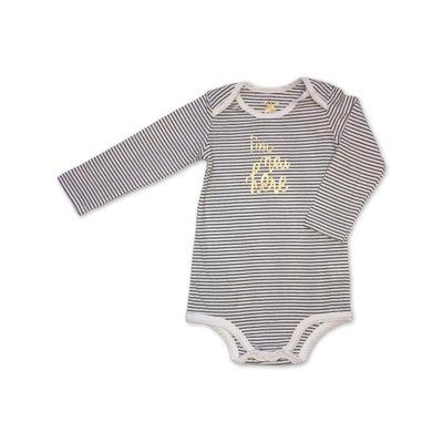 dot2tot Baby Slogan LS Bodysuit 9019040016