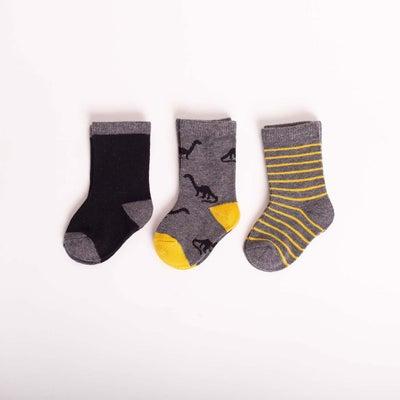 dot2tot Brontosaurus 3Pk Socks 9018860001