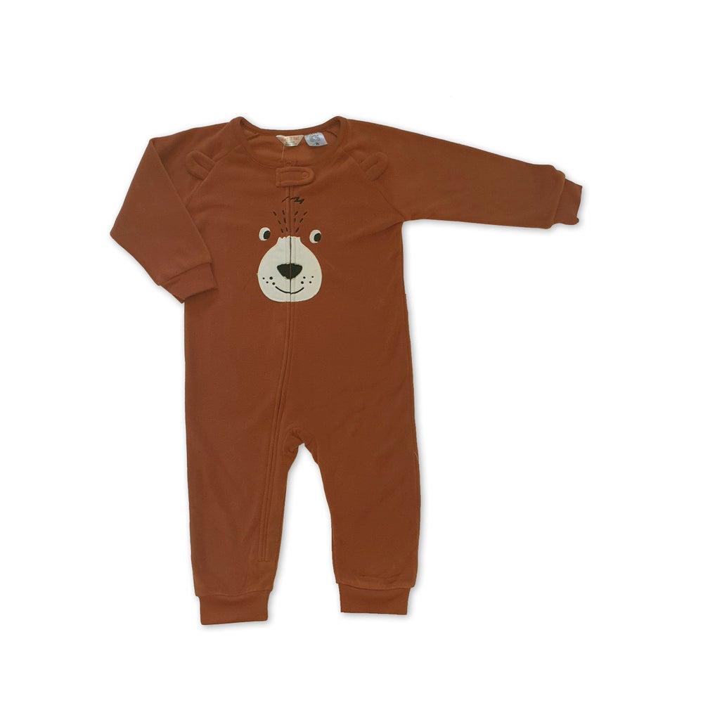 dot2tot Brown Bear Sleepsuit 9019130002