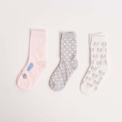 dot2tot Bunny 3Pack Socks 9014970001