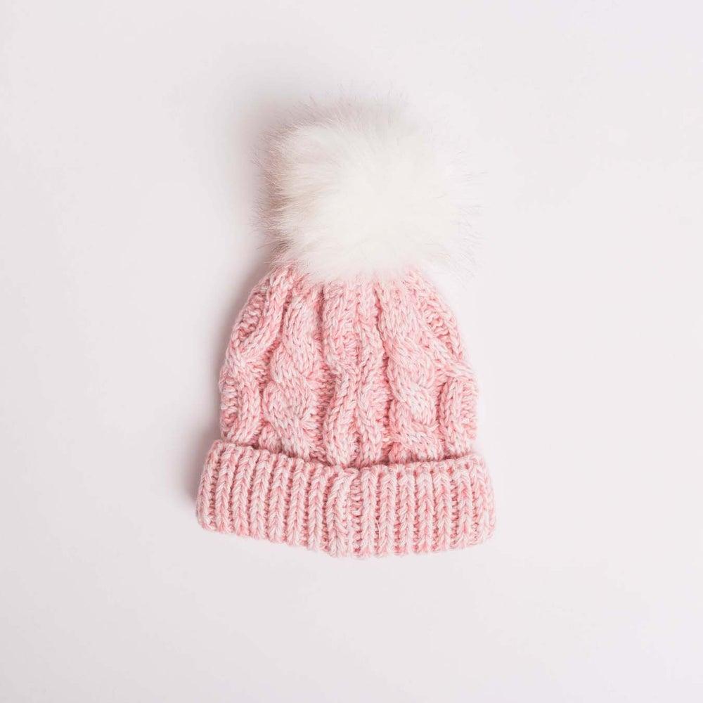 dot2tot Fur Cable Hat 9015310003